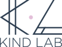 Kind Lab font logo small, transparent background