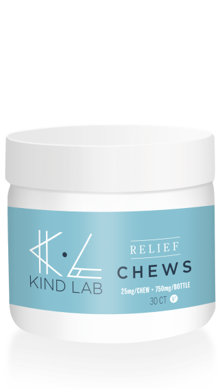 Kind Lab Relief CBD Chews for Pain