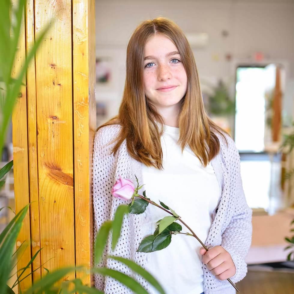 Kind Lab Founder, Angela Arena's daughter Emily