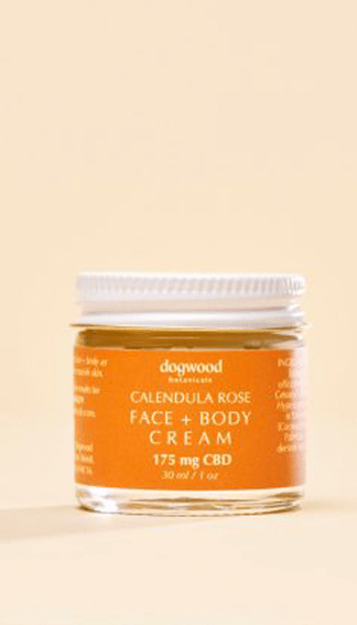 Dogwood Botanicals CBD Face + Body Cream