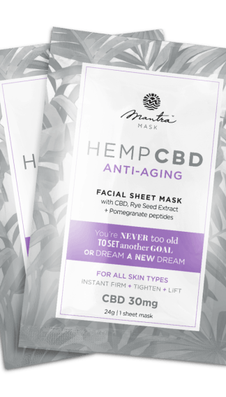 Mantra Mask Hemp CBD Anti-aging face mask
