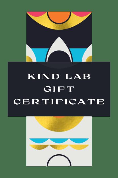 Kind Lab Digital Gift Certificate