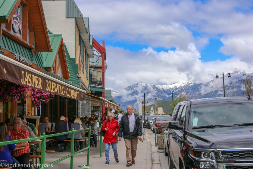 Jasper downtown, Icefield parkway, Banff and Jasper Tourism, Canadian Rockies