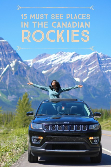 15 Must See Places in the Canadian Rockies