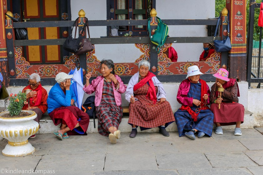 People of Bhutan, Paro