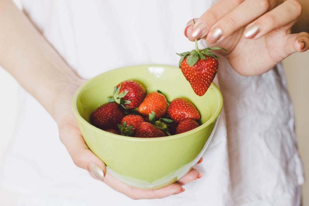 NUTRITION FACT OF STRAWBERRY