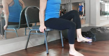 seated core exercises for seniors