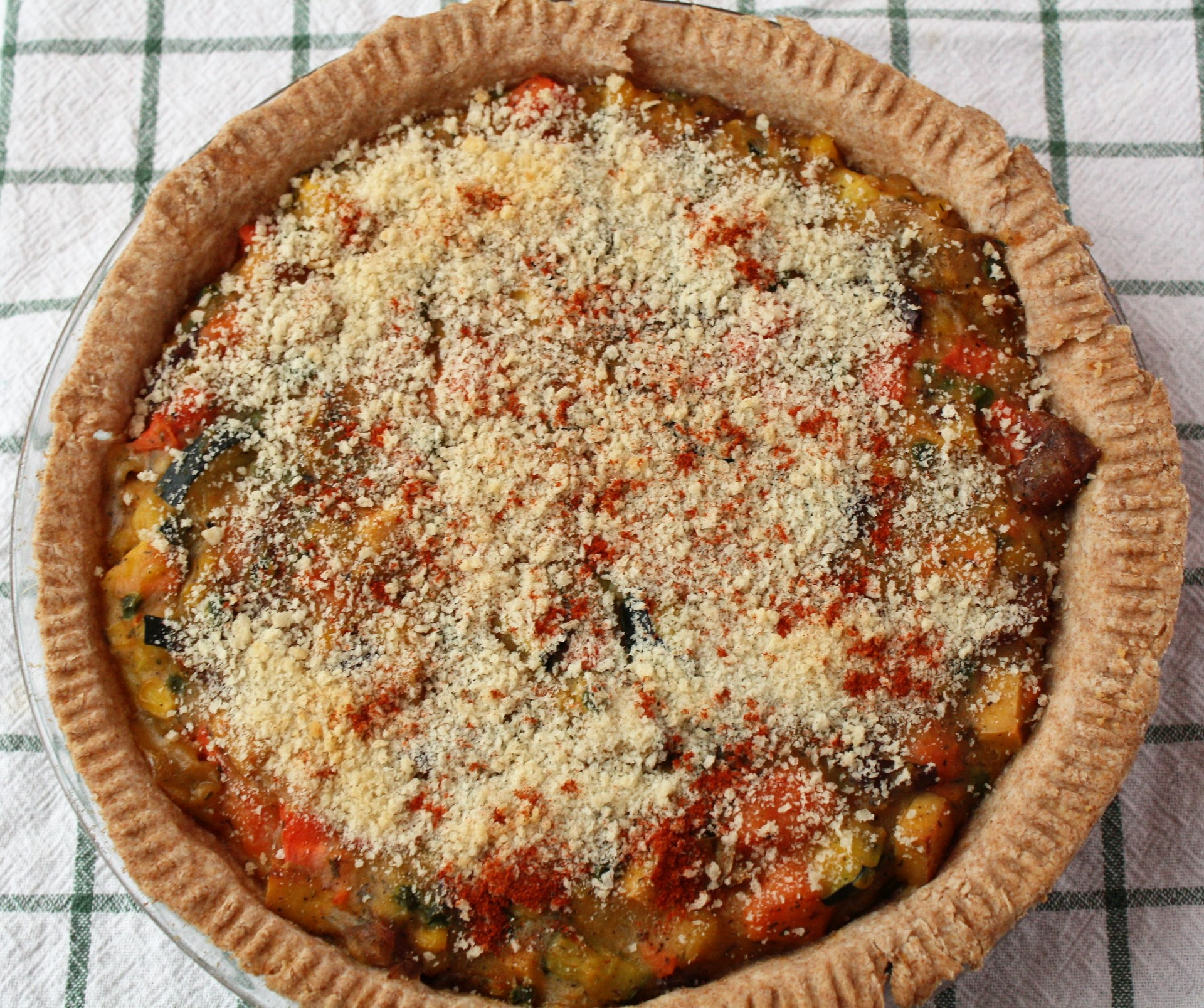 Rustic Vegetable Pie