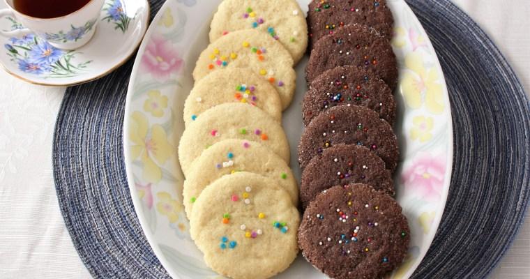 Vegan Sugar Cookies: 2-Ways!
