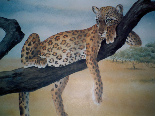 Serengeti Leopard by Lucinda Hayes