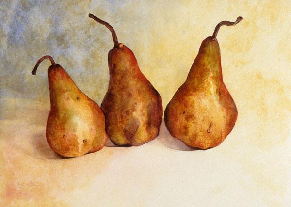 Pears by Lucinda Hayes