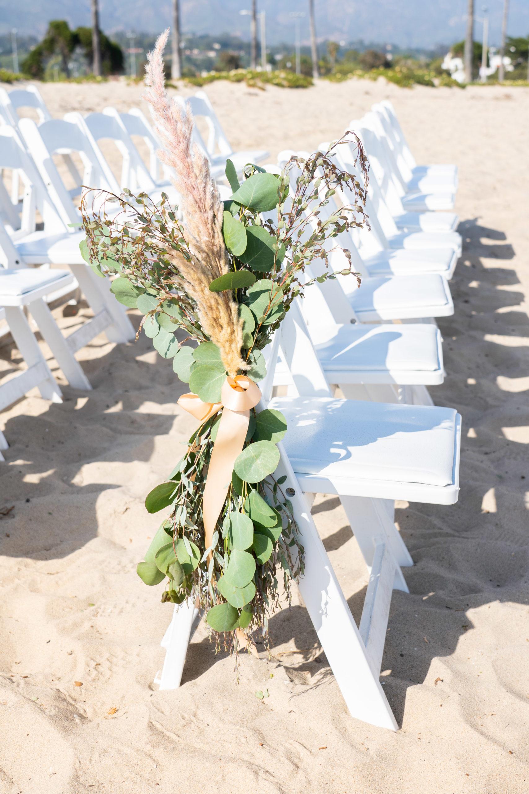 Beach Wedding Aisle Decor