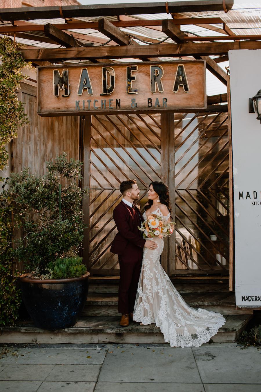 Madera Kitchen intimate wedding