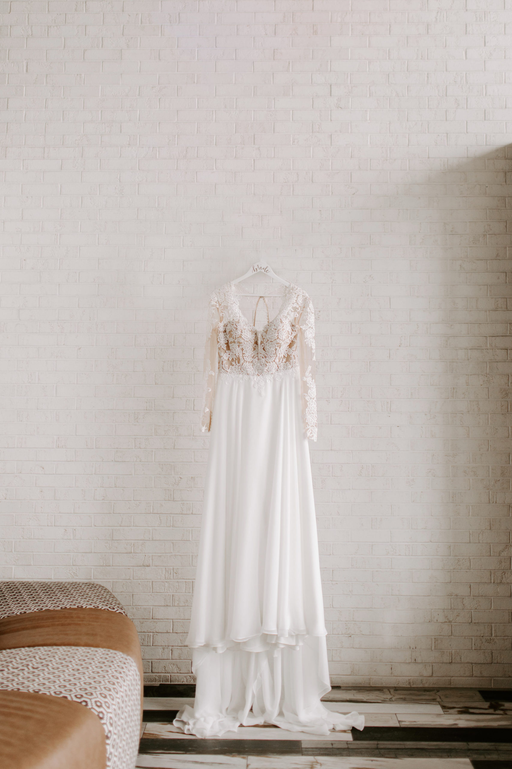 Lace Bridal Gown by Lillian West