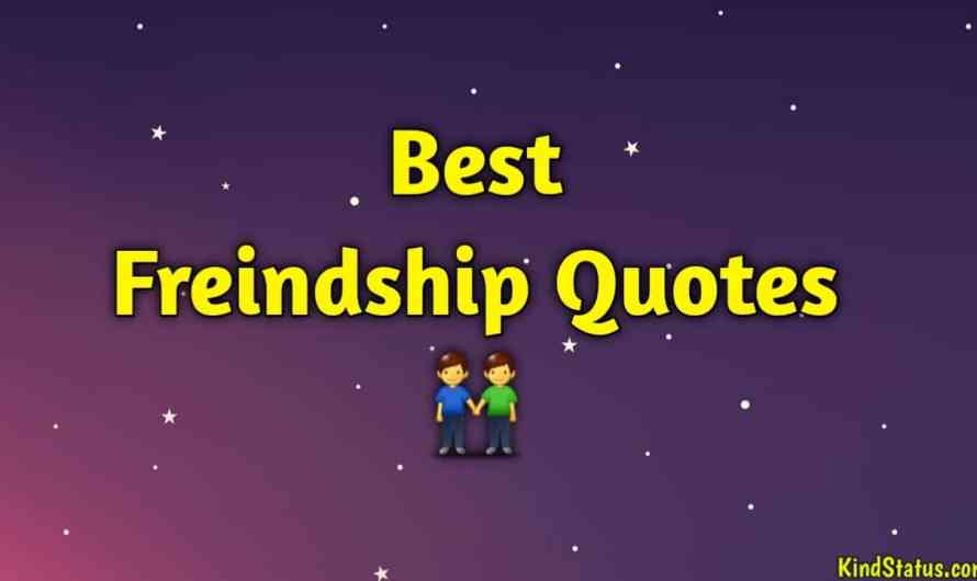 Friendship Quotes In Hindi | Best Friends Thoughts