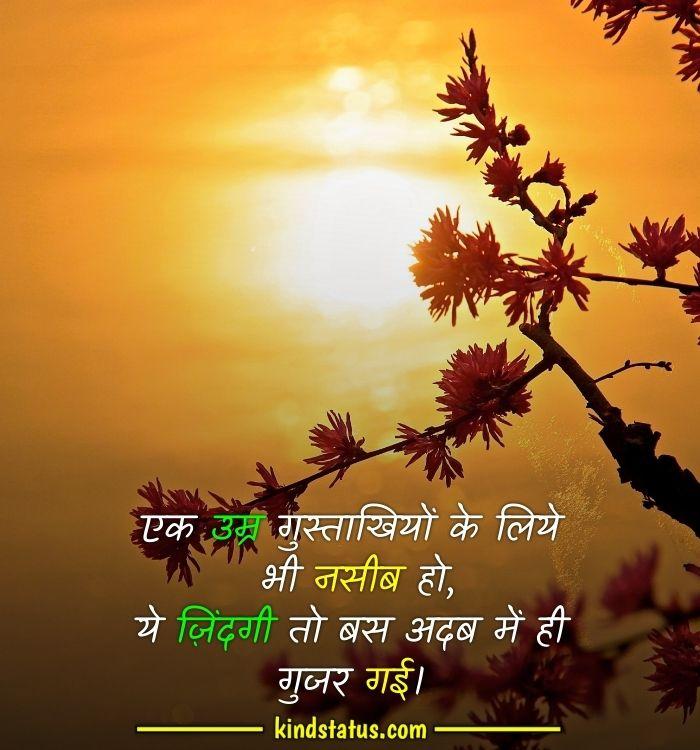 truth of life quotes in hindi shayari