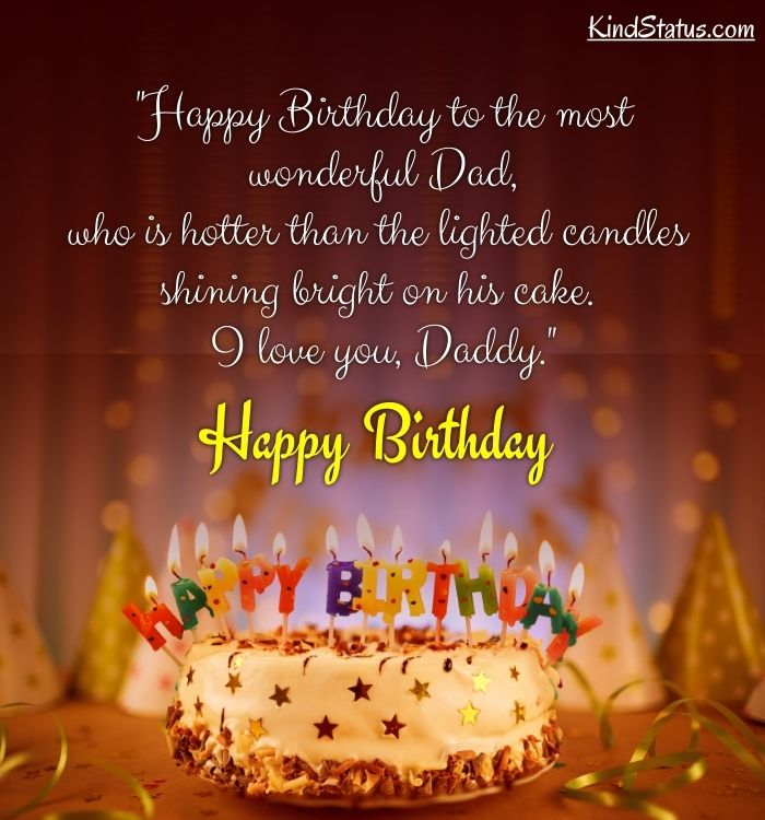 birthday wishes to dad
