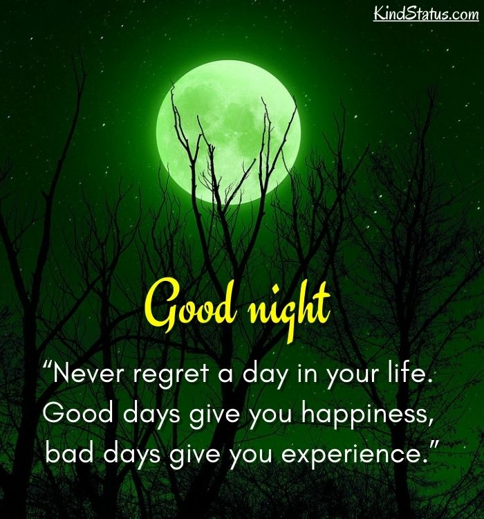 good night thought