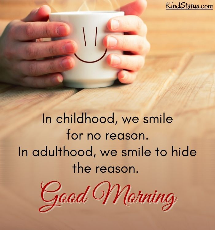 thought good morning quotes