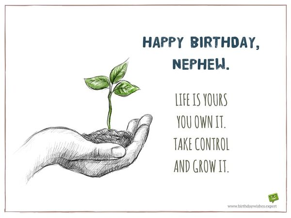 Happy Birthday Nephew Bday Wishes And Quotes For Nephew