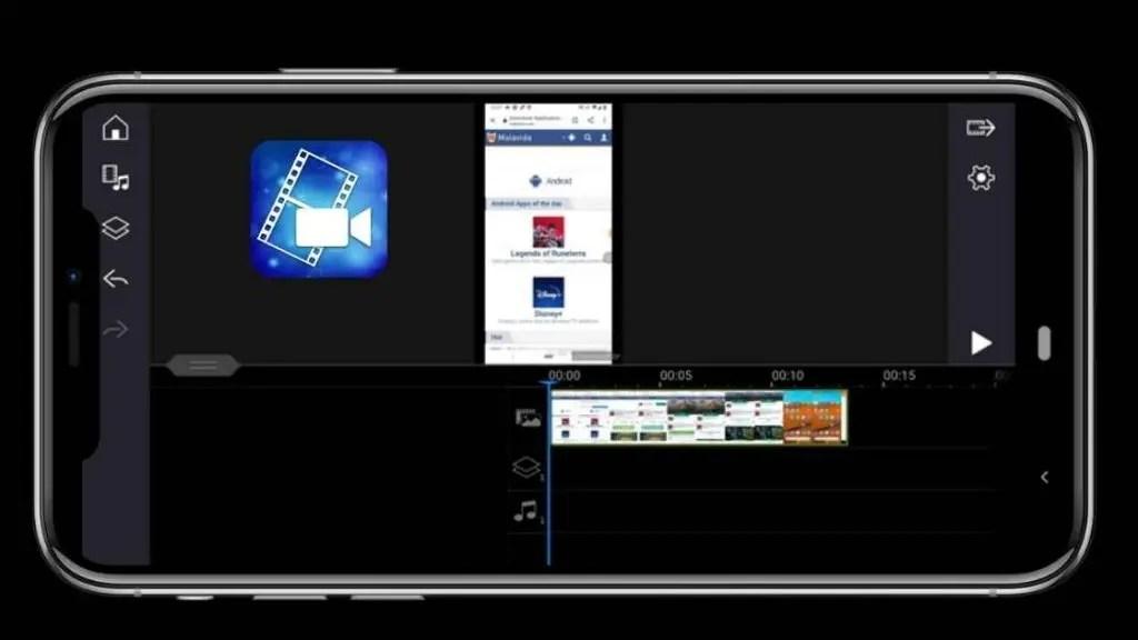 PowerDirector interface