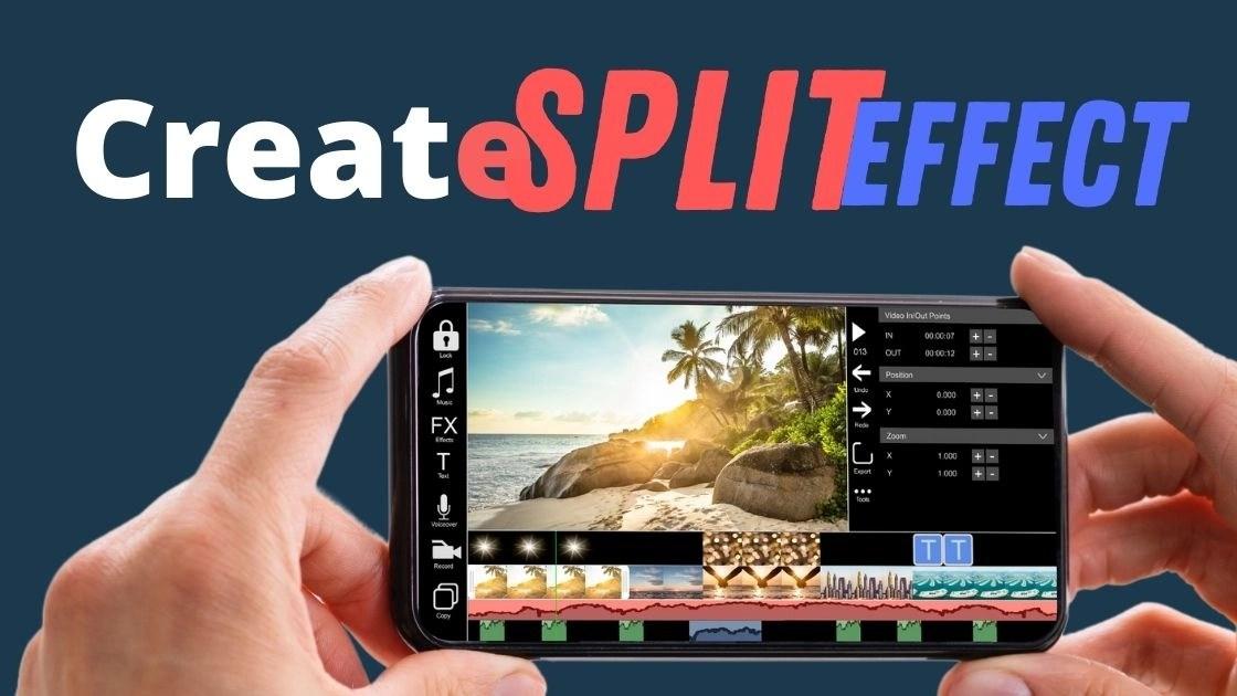 Create Split scree on phone