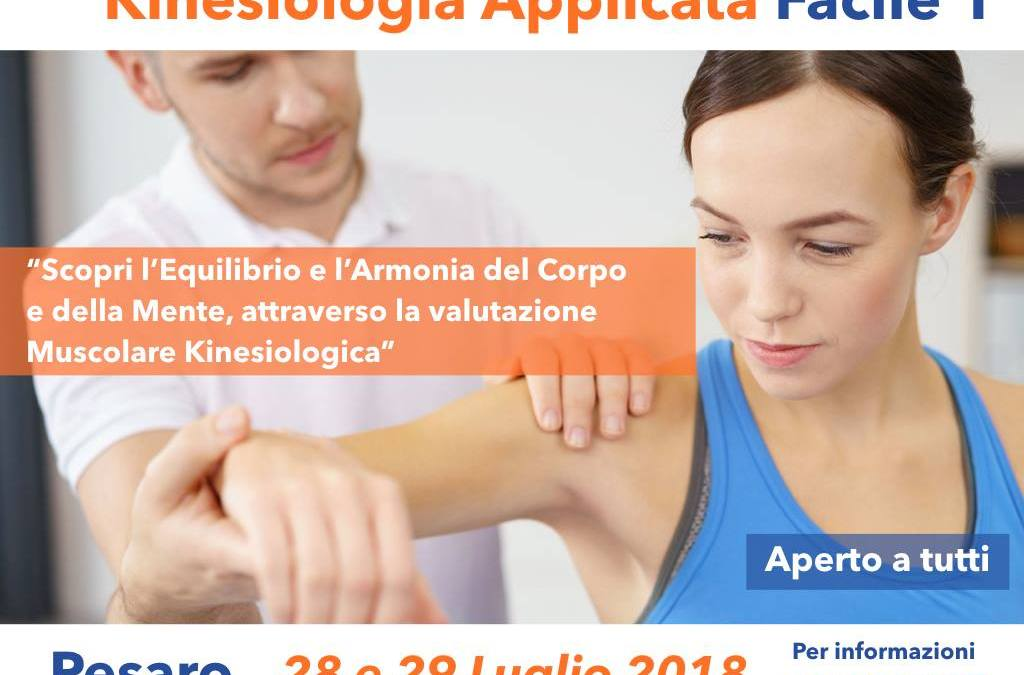 KINESIOLOGIA APPLICATA FACILE 1