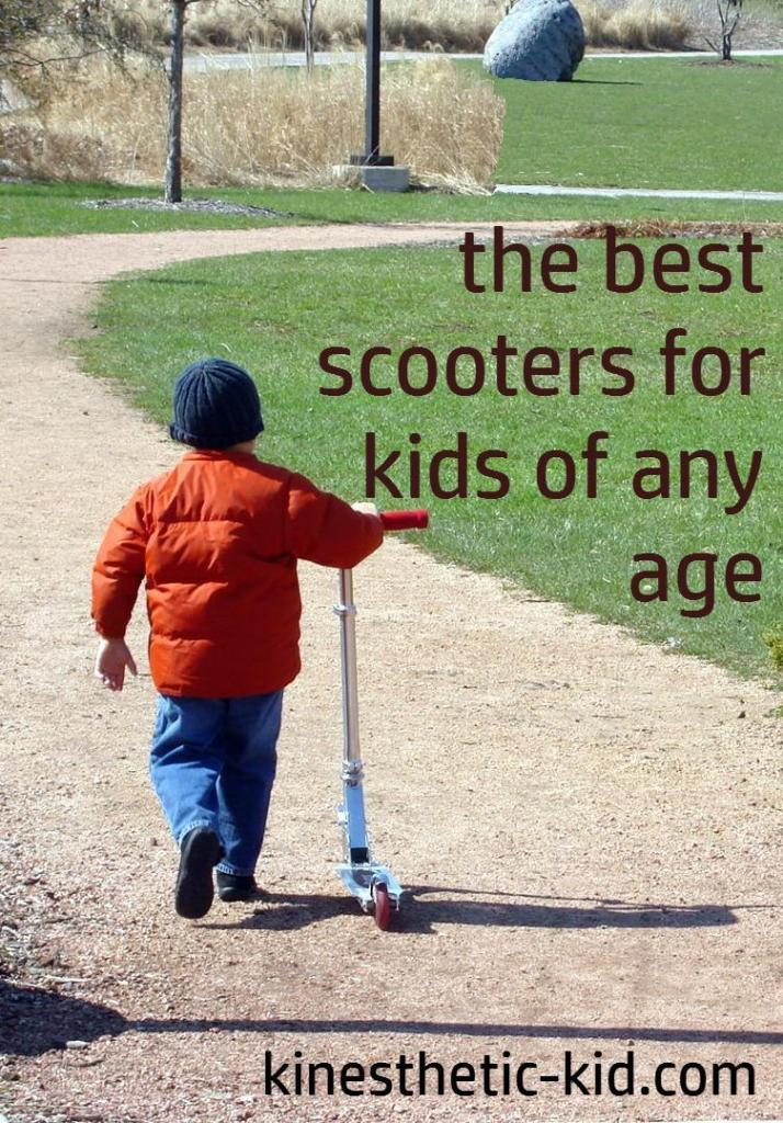 A Resource Guide for the Best Scooter for Toddlers and Kids of Any Age. Find out what scooters are best for toddlers and bigger kids.