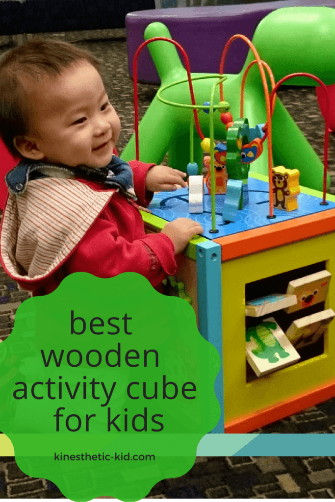 My kid loves activity cubes and this page reviews the best wooden activity cubes on the market today.
