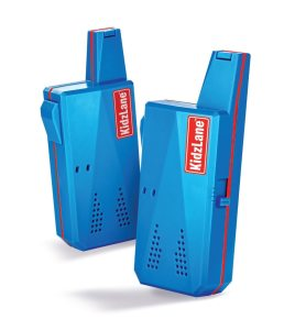 kidzlane walkie talkie blue