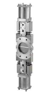 ORBINOX - Knife Gate Valve - DT (SER.80) - DOUBLE GATE