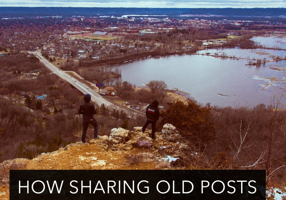 How sharing old posts can help your blog grow.