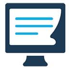 Computer icon - Computer icon