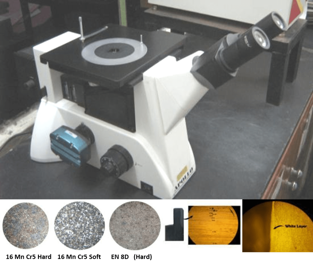 Metallurgical Microscope 50x - 1000x Magnification with 5MP Camera
