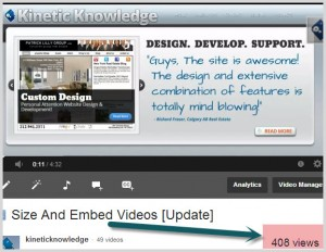 Video Edutizing | Kinetic Knowledge