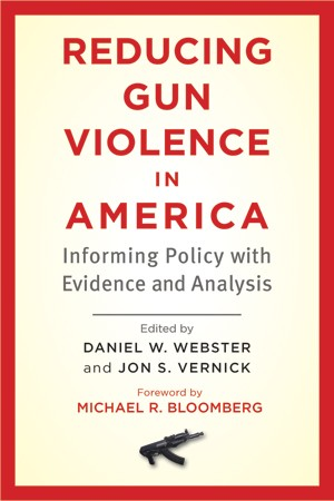 The staggering toll of gun violence—which claims 31,000 U.S. lives each year—is an urgent public health issue that demands an effective evidence-based policy response.