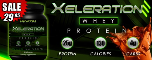 Kinetix Supplements - Xeleration Whey