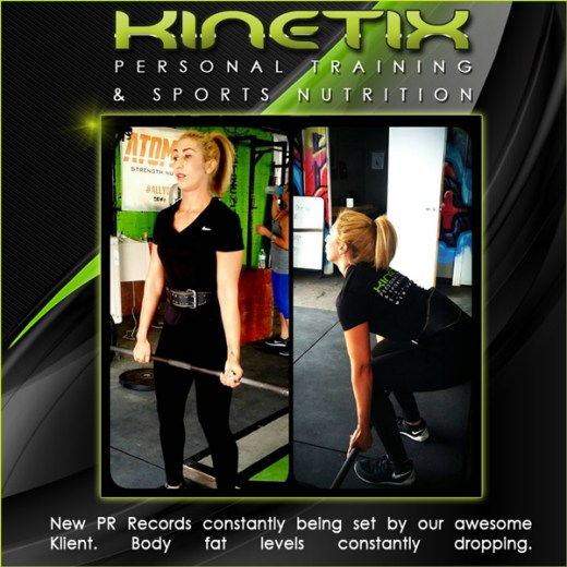 Kinetix Personal Training Klient Transfomations