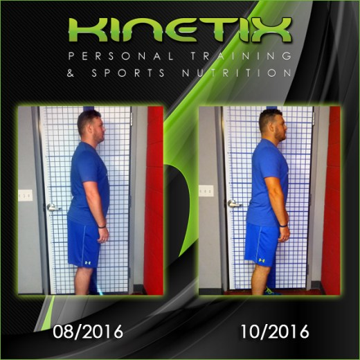 Kinetix Personal Training Klient Transformations