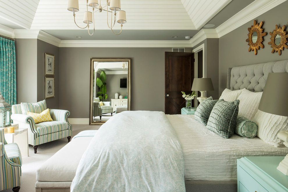kinfolk&soul transitional interior-millwork-bedroom-transitional-with-tufted-headboard-traditional-wall-mirrors