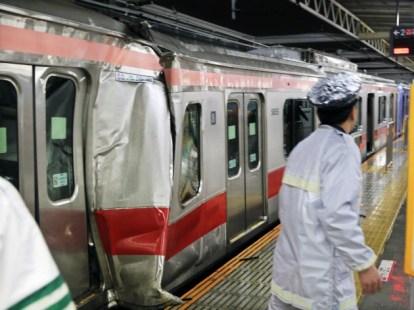 東急東横線東住吉駅での追突事故(2014年2月)