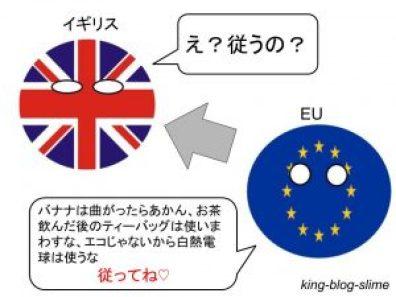 EUとイギリスの法律関係