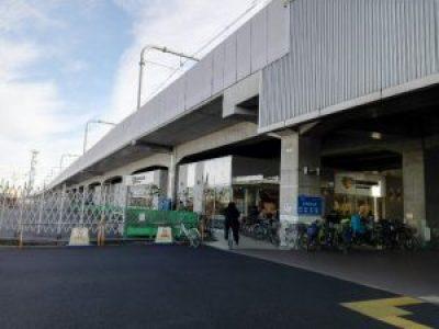 東小金井駅下のスーパー