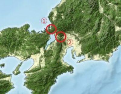 名古屋地方拡大図