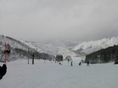 神立高原スキー場ゲレンデ④