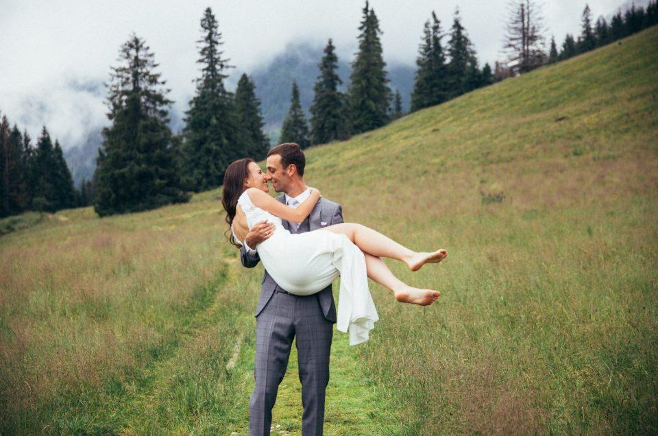 Plener ślubny w Tatrach – Kasia i Miko