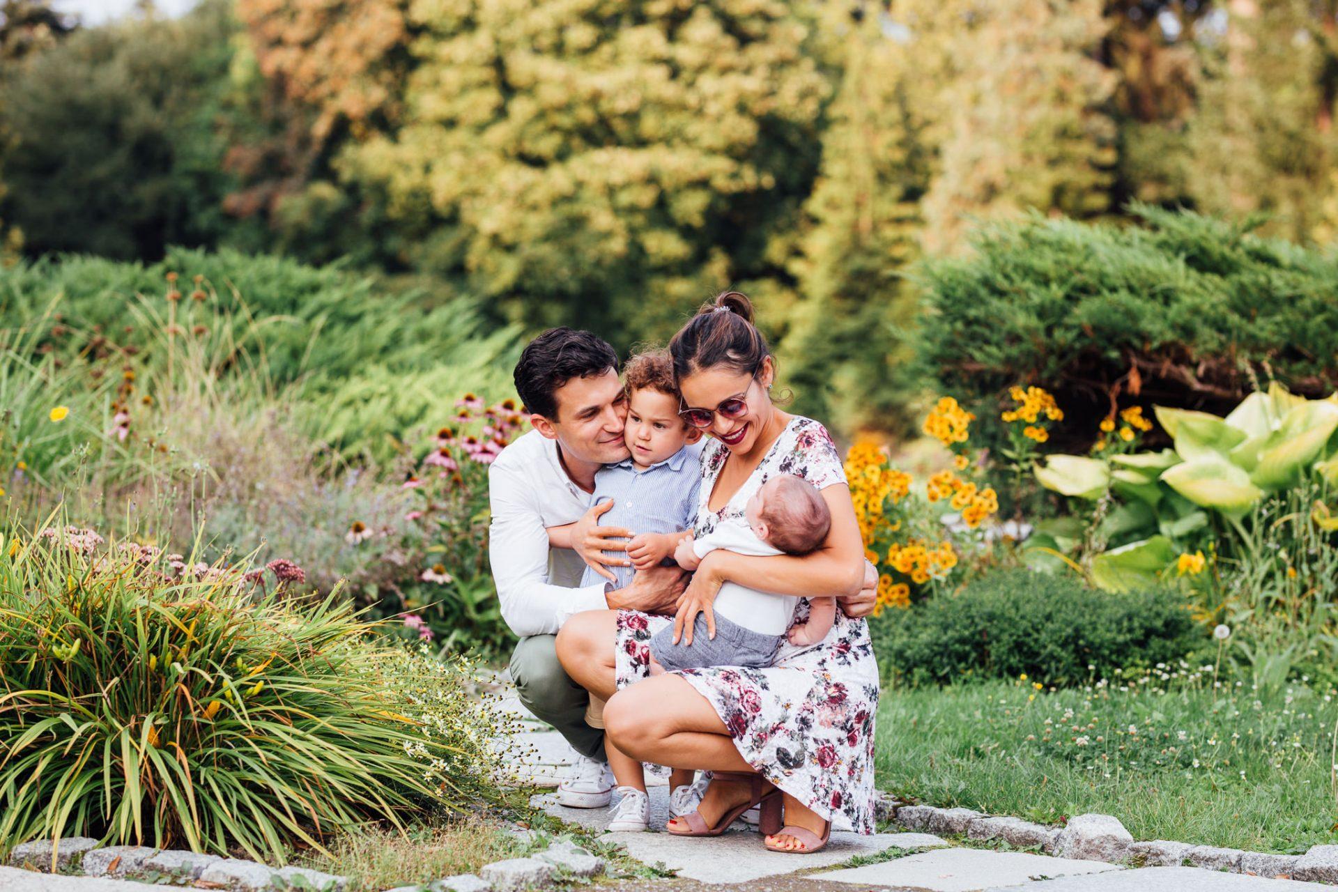 sesja-rodzinna-poznań-ogród-botaniczny