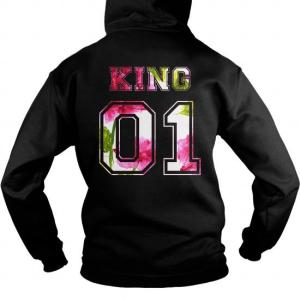 king and queen hoodies