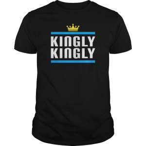 King And Queen Golden Crown Kingly Kingly Matching Couple Husband T-Shirt Gift