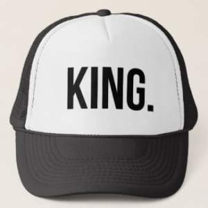 King And Queen Trucker Hat